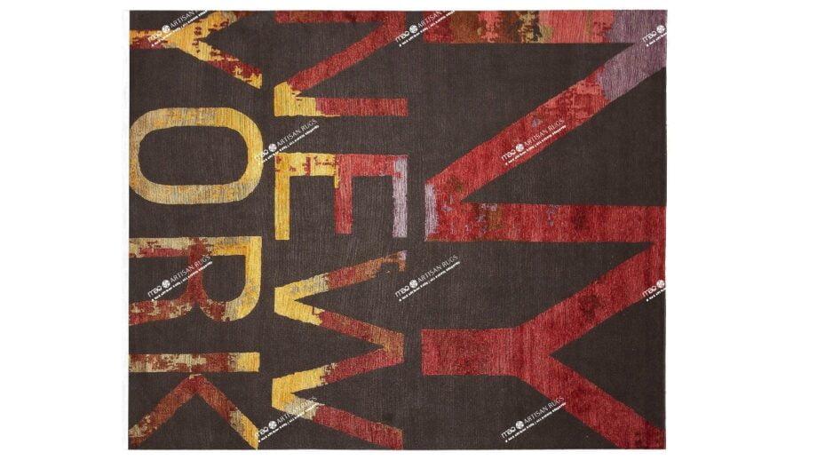 Mae Artisan Rugs | Art NY 3.00 x 2.50m 2.5m X 3m Mae Rugs Template Top View