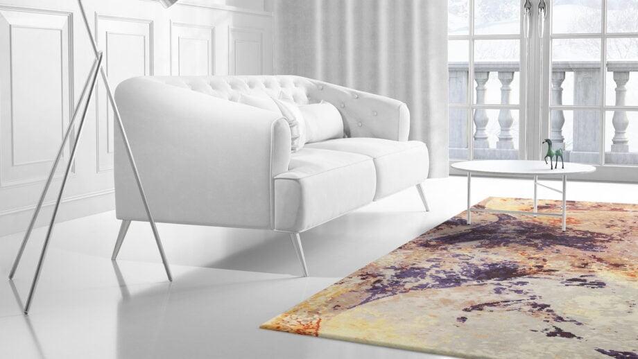 Mae Artisan Rugs | Art Supernova 2.80 x 1.84m 40440 2m X 3m Mae Rugs Template Side View 2