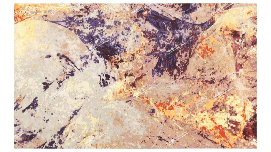 Mae Artisan Rugs | Art Supernova 2.80 x 1.84m 40440 2m X 3m Mae Rugs Template Top View