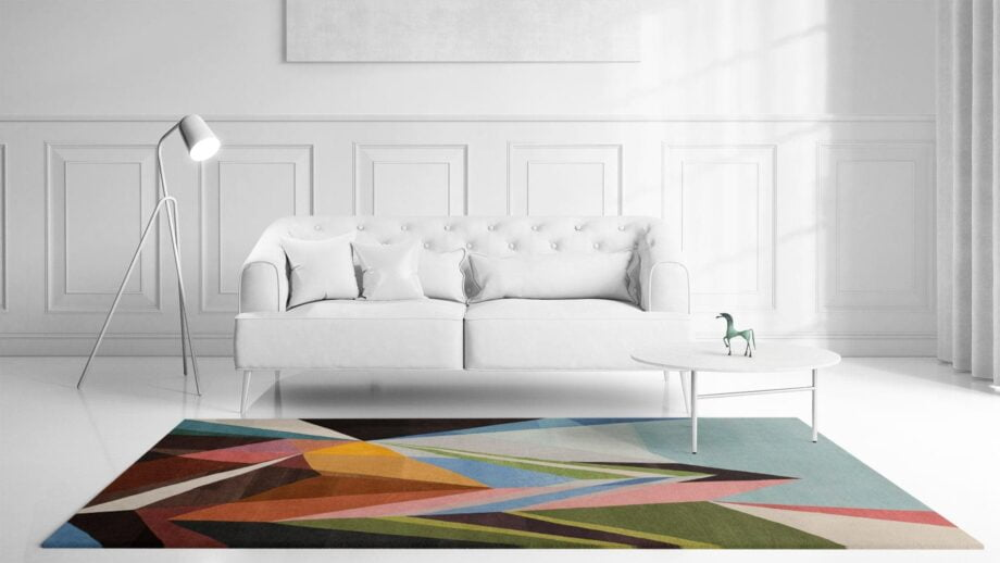Mae Artisan Rugs | Art The Prism by Kluk CGTD 3.00 x 2.50m 2.5m X 3m Mae Rugs Template Front View