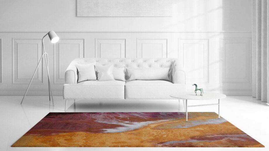 Mae Artisan Rugs | Art Yogan 3.50 x 2.50m 2.5m X 3m Mae Rugs Template Front View