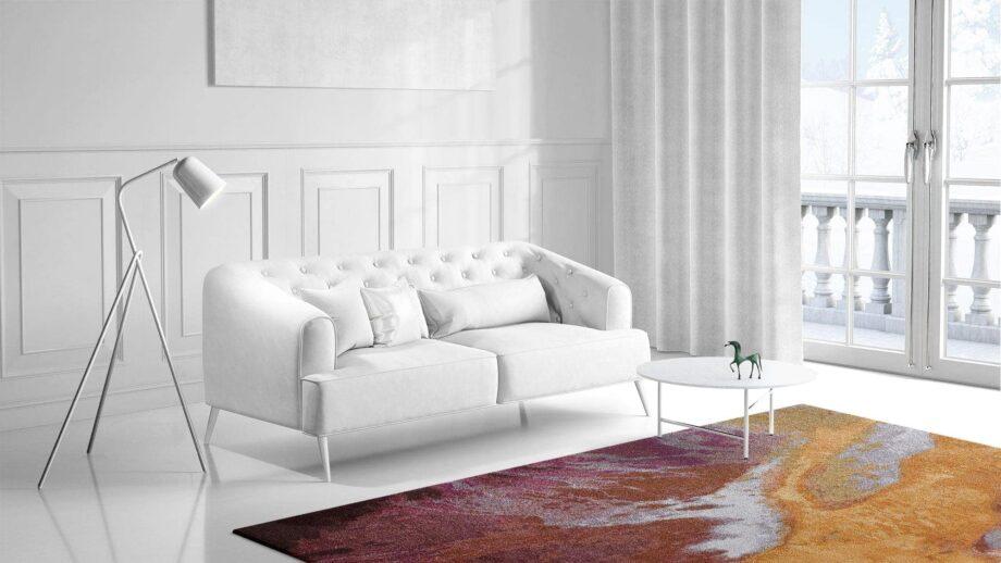 Mae Artisan Rugs | Art Yogan 3.50 x 2.50m 2.5m X 3m Mae Rugs Template Side View 1