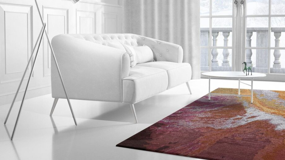 Mae Artisan Rugs | Art Yogan 3.50 x 2.50m 2.5m X 3m Mae Rugs Template Side View 2