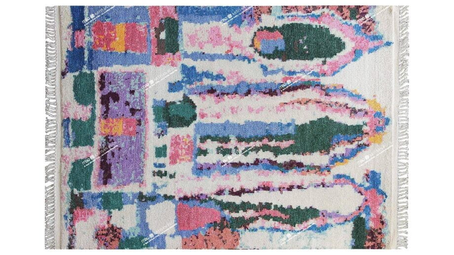 Mae Artisan Rugs | Berber Joy 40100 3.30 x 2.50m Fringed 2.5m X 3.5m Mae Rugs Template Top View