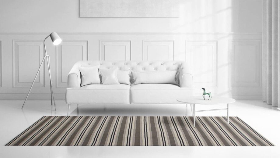 Mae Artisan Rugs | Contemporary Hip Stripe Kelim 1475 1.80 x 2.80 Rectangular 2m X 3m Mae Rugs Template Front View