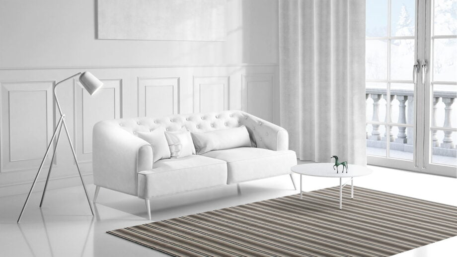 Mae Artisan Rugs | Contemporary Hip Stripe Kelim 1475 1.80 x 2.80 Rectangular 2m X 3m Mae Rugs Template Side View 1