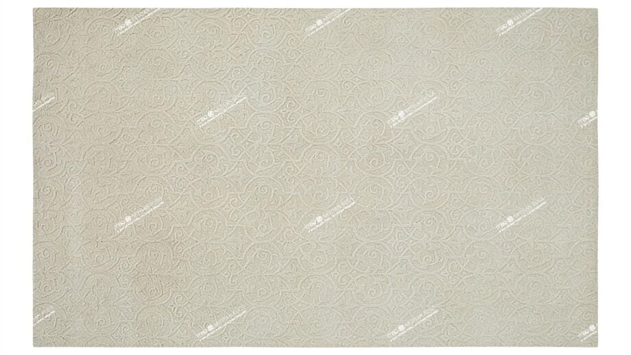 Mae Artisan Rugs | Contemporary Raw Ivory Modern 1793 1.85 x 2.80 Rectangular 2m X 3m Mae Rugs Template Top View