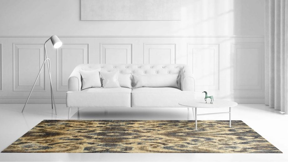 Mae Artisan Rugs | Contemporary The Neutral Jute 1400 3.00 x 2.47 Rectangular 2.5m X 3m Mae Rugs Template Front View scaled