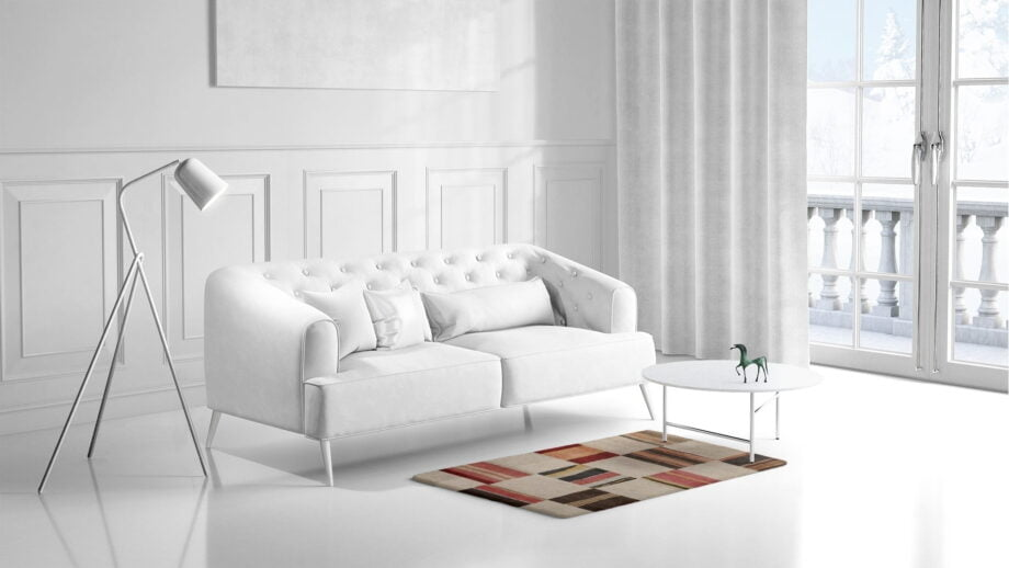 Mae Artisan Rugs | Himalaya Old fabric 1131 1.50 x 1.06m 1.3m X 2m Mae Rugs Template Side View 1