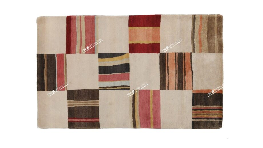 Mae Artisan Rugs | Himalaya Old fabric 1131 1.50 x 1.06m 1.3m X 2m Mae Rugs Template Top View