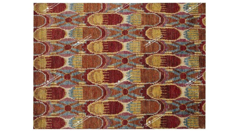 Mae Artisan Rugs | Jute The Pink Jute 1406 3.00 x 2.48m 2.5m X 3m Mae Rugs Template Top View
