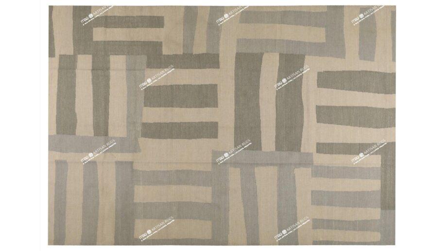 Mae Artisan Rugs   Kelim Afro Comb 11159 3.50 x 2.50m 2.5m X 3.5m Mae Rugs Template Top View