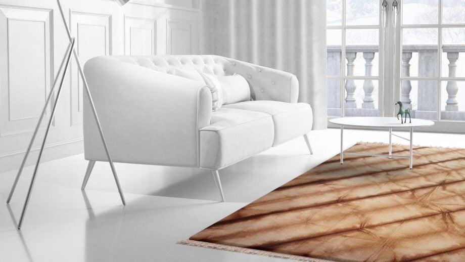 Mae Artisan Rugs | Kelim Batik Brown 12370 3.00 x 2.50m 2.5m X 3m Mae Rugs Template Side View 2
