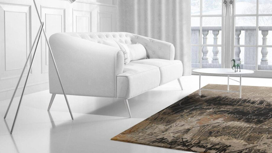 Mae Artisan Rugs | Modern Rumi N n 3.00 x 2.50m 2.5m X 3m Mae Rugs Template Side View 2 Recovered