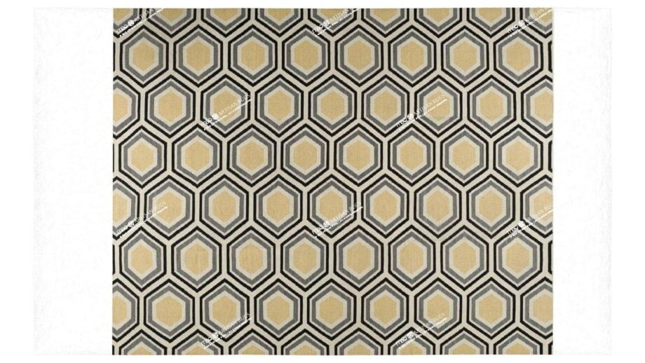Mae Artisan Rugs | NN Honeycomb Kelim 2.5m X 3m Mae Rugs Template Top View