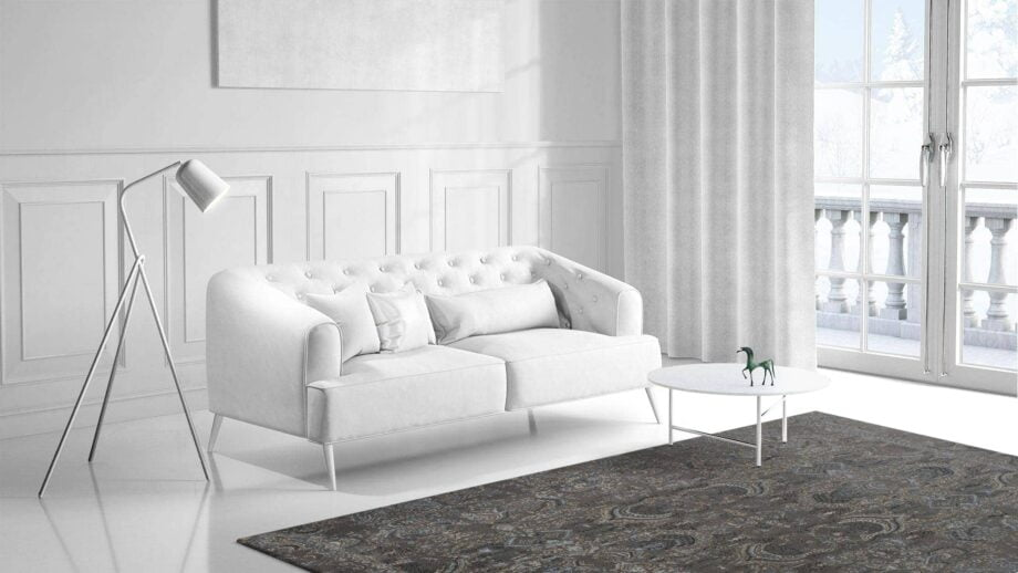 Mae Artisan Rugs   The Asian modern vintage the asian 2351 7 3.00 x 2.50m 2.5m X 3m Mae Rugs Template Side View 1 Recovered