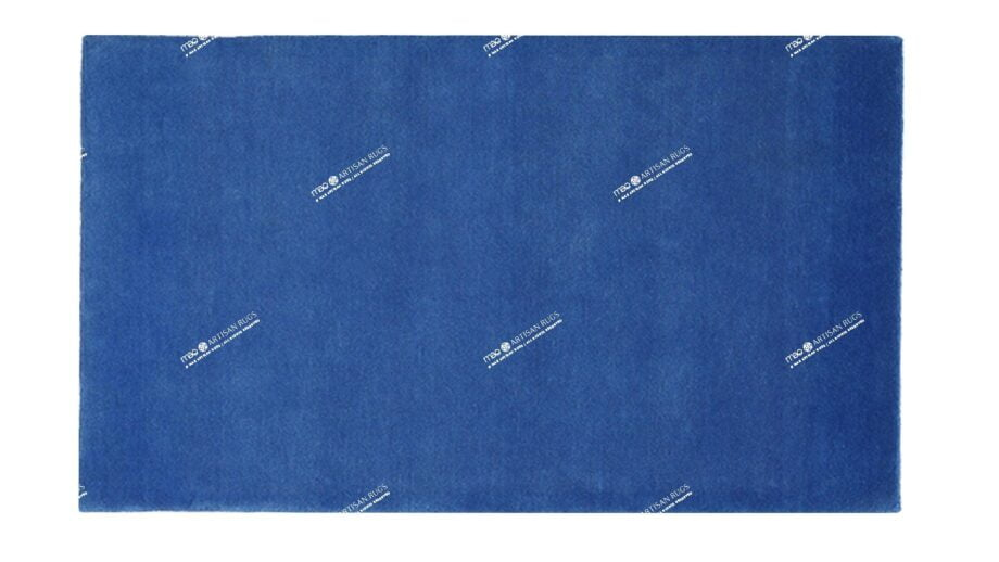 Mae Artisan Rugs | The Blue Himalaya Rectangular 1m X 1.5m Mae Rugs Template Top View