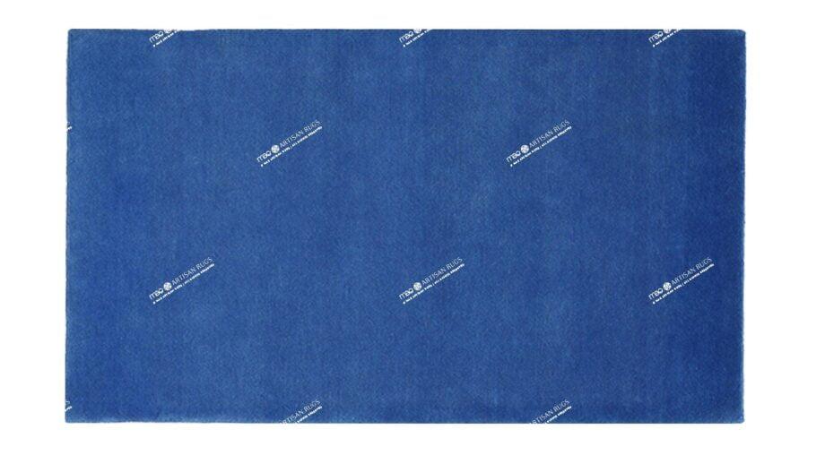 Mae Artisan Rugs | The Blue Himalaya Rectangular 1m X 1.5m Mae Rugs Template Top View