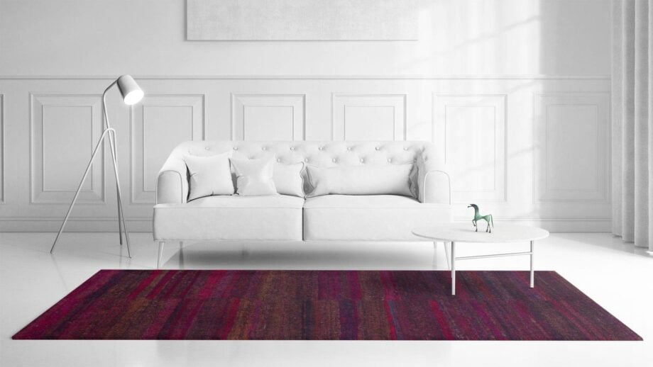 Mae Artisan Rugs | The Crazy Silk 2423 2.32 x 1.69m 240m X 170m Mae Rugs Template Front View