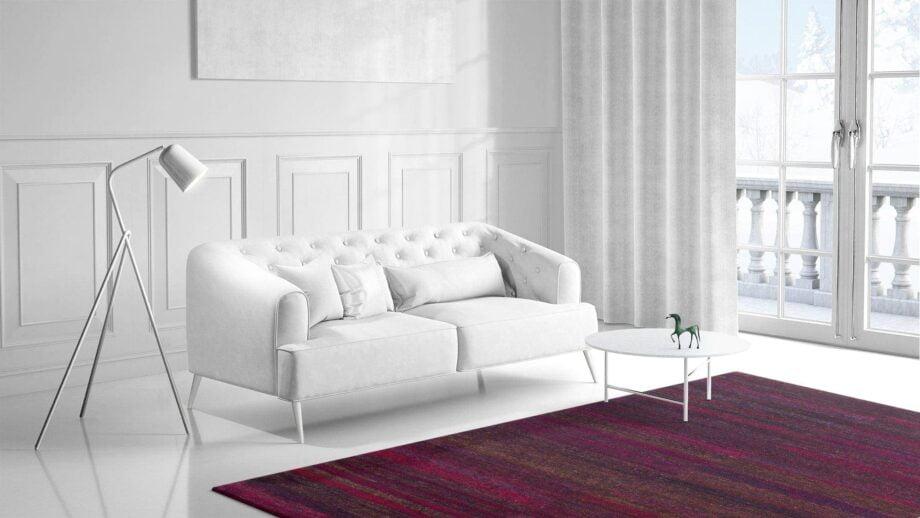 Mae Artisan Rugs | The Crazy Silk 2423 2.32 x 1.69m 240m X 170m Mae Rugs Template Side View 1