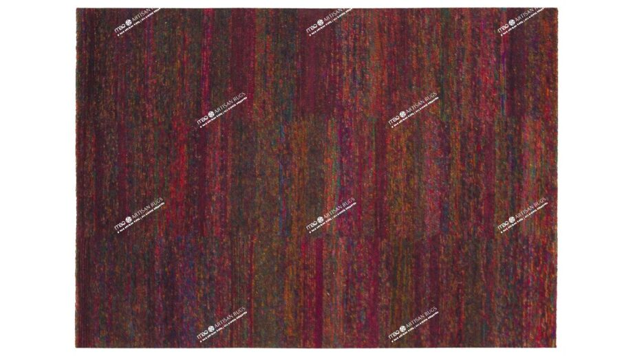 Mae Artisan Rugs | The Crazy Silk 2426 2.35 x 1.70m 240m X 170m Mae Rugs Template Top View