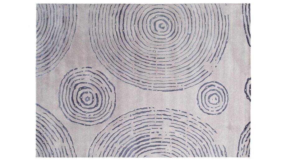 Mae Artisan Rugs | The Crop Circle modern crop circle 1809 3.50 x 2.50m Mae Rugs Template Top View