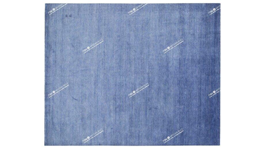 Mae Artisan Rugs | The Matt Blue bamboo silk 2389 3.00 x 2.50m 2.5m X 3m Mae Rugs Template Top View