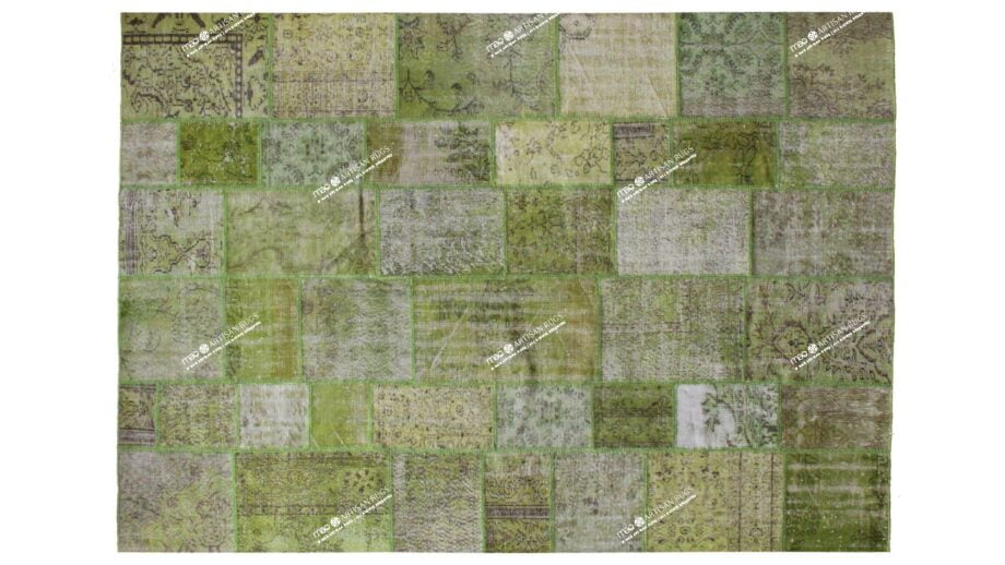 Mae Artisan Rugs | The Turkish Patchwork 2302 3.50 x 2.50m Mae Rugs Template Top View