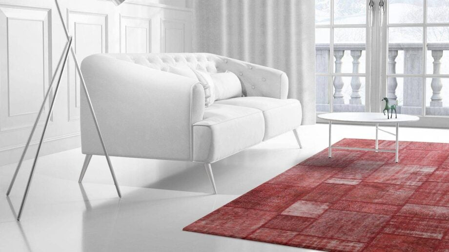Mae Artisan Rugs | The Turkish Patchwork 2303 3.50 x 2.50m Mae Rugs Template Side View 2 Recovered