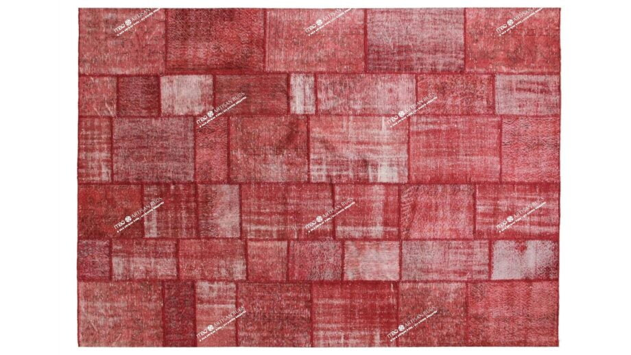 Mae Artisan Rugs | The Turkish Patchwork 2303 3.50 x 2.50m Mae Rugs Template Top View