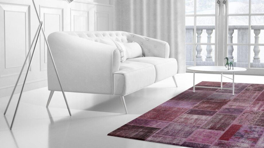 Mae Artisan Rugs | The Turkish Patchwork 2305 3.00 x 2.50m 2.5m X 3m Mae Rugs Template Side View 2