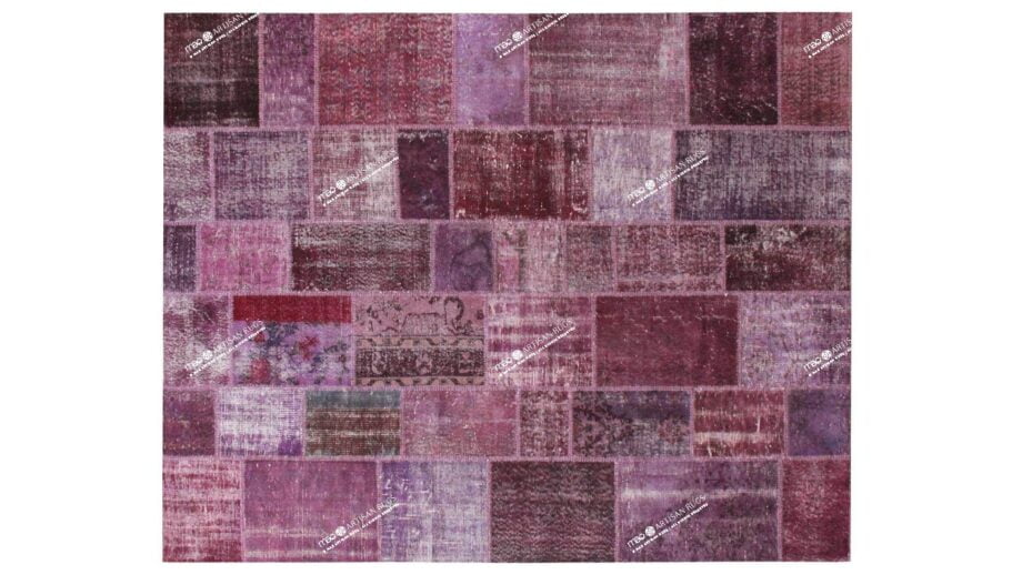 Mae Artisan Rugs | The Turkish Patchwork 2305 3.00 x 2.50m 2.5m X 3m Mae Rugs Template Top View