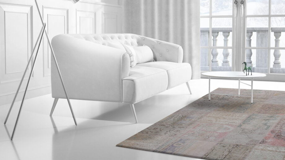 Mae Artisan Rugs | The Turkish Patchwork 75056 3.00 x 2.50m 2.5m X 3m Mae Rugs Template Side View 2
