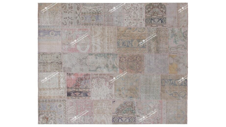 Mae Artisan Rugs | The Turkish Patchwork 75056 3.00 x 2.50m 2.5m X 3m Mae Rugs Template Top View