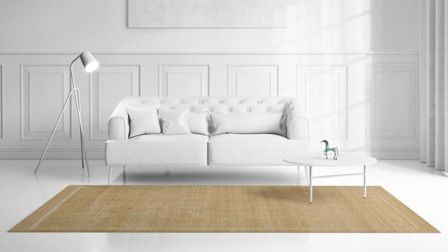 a room filled with furniture and a bed