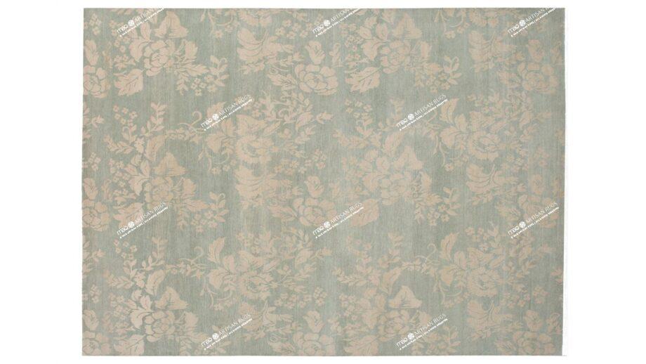 Mae Artisan Rugs | Tibetan vintage rose 5 C1117 3.50 x 2.50m Mae Rugs Template Top View