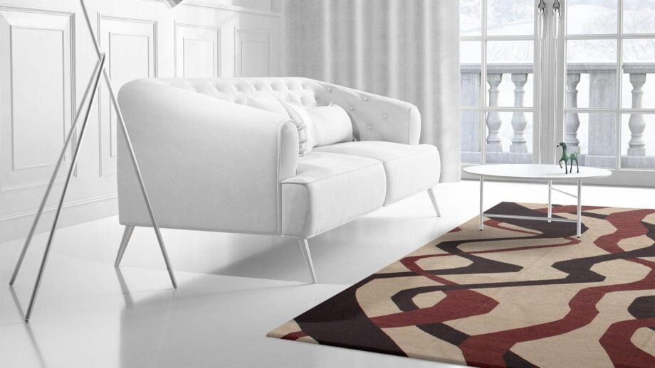 Mae Artisan Rugs | kelim The Ribbons 11121 3.50 x 2.50m Mae Rugs Template Side View 2 Recovered