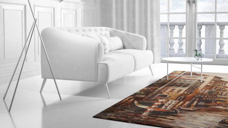 Mae Artisan Rugs | kelim printed The Venice Nn 240m X 170m Mae Rugs Template Side View 2