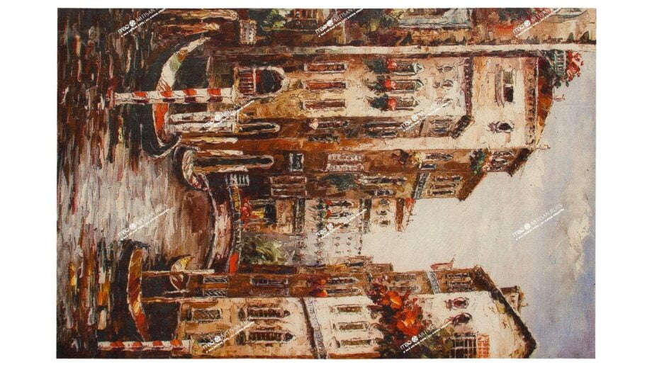 Mae Artisan Rugs | kelim printed The Venice Nn 240m X 170m Mae Rugs Template Top View
