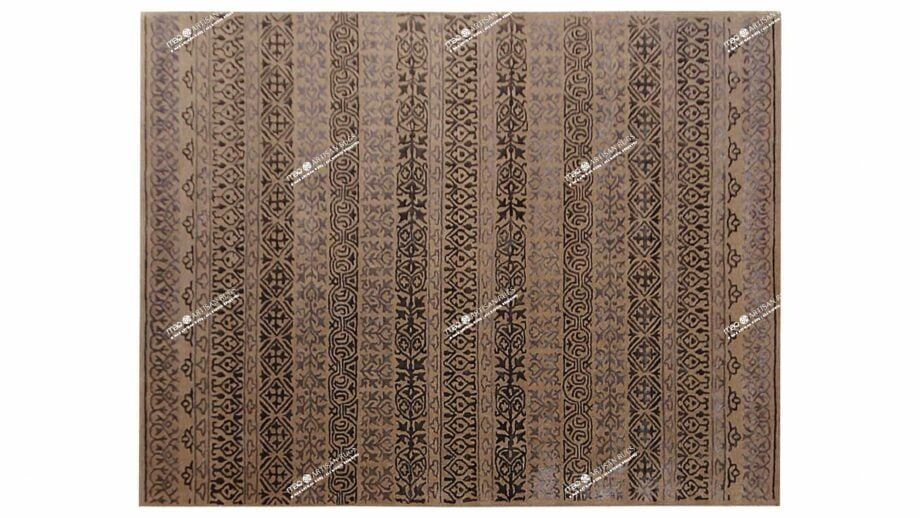 Mae Artisan Rugs | modern 2147 heaven brown 3.00 x 2.50m 2.5m X 3m Mae Rugs Template Top View Recovered