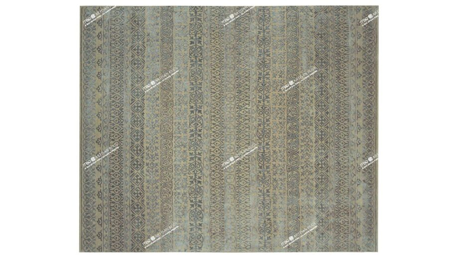 Mae Artisan Rugs | modern 2149 heaven blue 3.00 x 2.50m 2.5m X 3m Mae Rugs Template Top View Recovered
