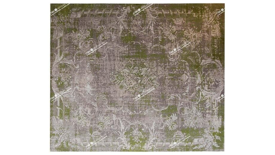 Mae Artisan Rugs | modern BULTHAUP vintage aubusson dreams 1837 3.00 x 2.50m 2.5m X 3m Mae Rugs Template Top View Recovered