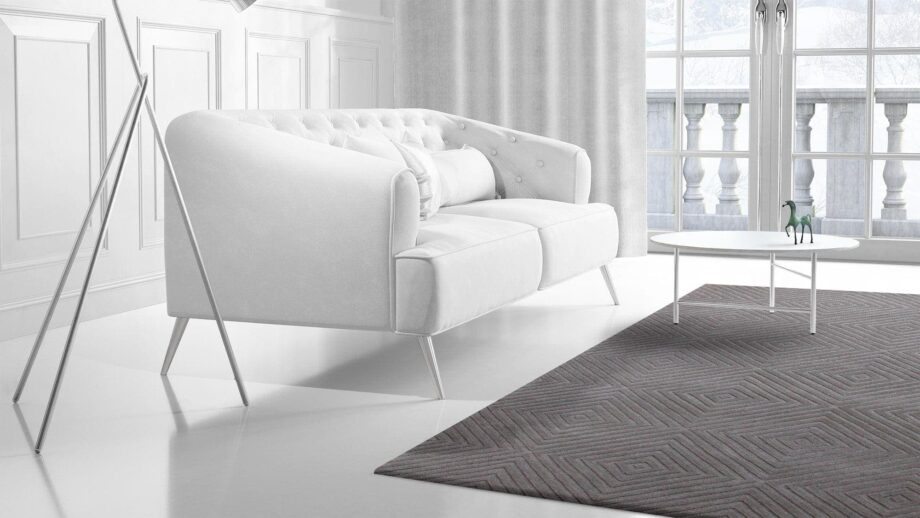 Mae Artisan Rugs | modern The pyramid 40467 3.00 x 2.50m 2.5m X 3m Mae Rugs Template Side View 2 Recovered