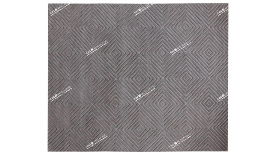 Mae Artisan Rugs | modern The pyramid 40467 3.00 x 2.50m 2.5m X 3m Mae Rugs Template Top View Recovered