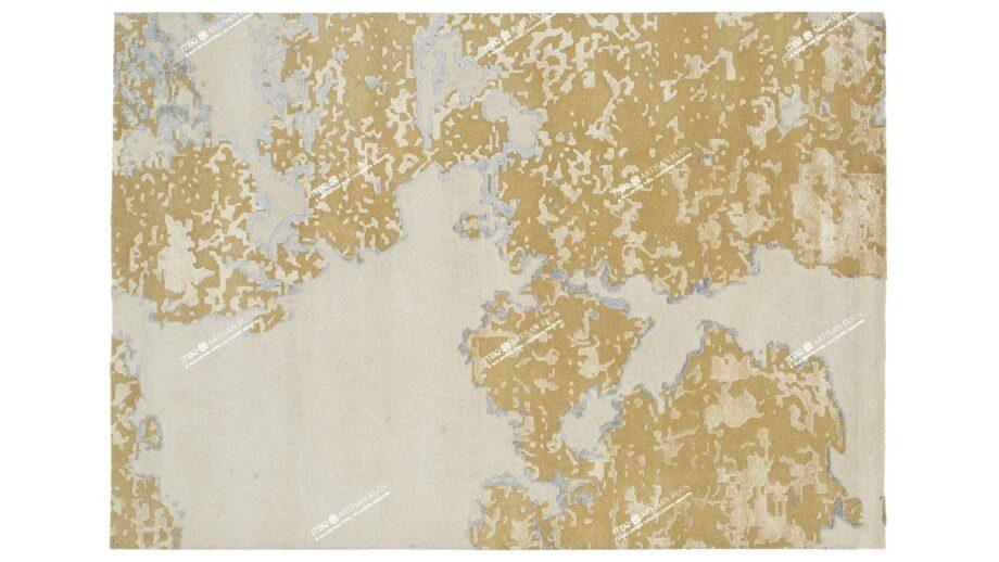 Mae Artisan Rugs | modern golden cow 1754 3.50 x 2.50m Mae Rugs Template Top View