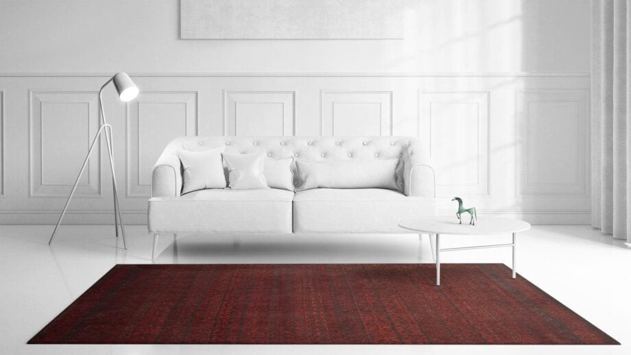 Mae Artisan Rugs | modern heaven red 2135 3.00 x 2.50m 2.5m X 3m Mae Rugs Template Front View Recovered