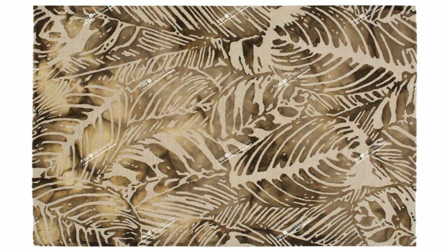 Mae Artisan Rugs | modern leaves 1527 2.40 x 1.60m 240m X 170m Mae Rugs Template Top View