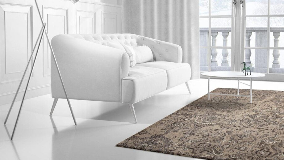 Mae Artisan Rugs | modern the Temple 2349 3.00 x 2.50m 2.5m X 3m Mae Rugs Template Side View 2 Recovered