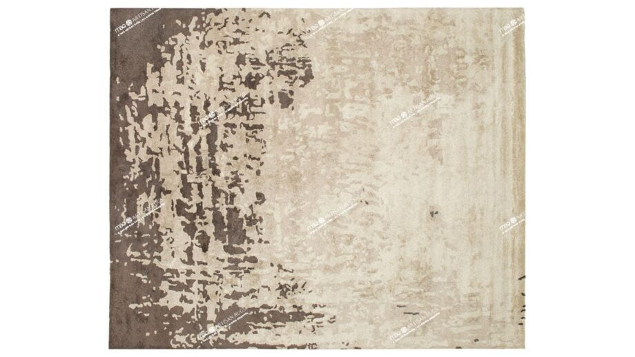 Mae Artisan Rugs | modern watermark brown or Brown Cow Nn 3.00 x 2.50m 2.5m X 3m Mae Rugs Template Top View Recovered