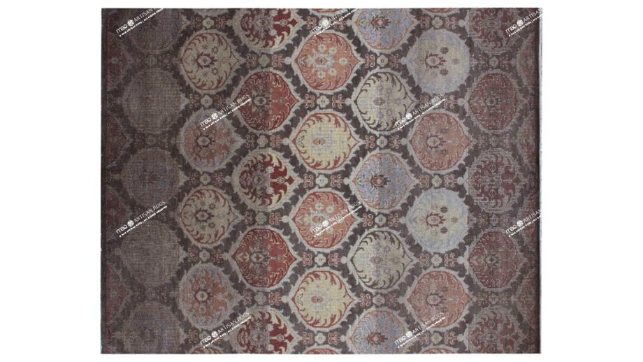 Mae Artisan Rugs | vintage brown 40116 3.00 x 2.40m 2.5m X 3m Mae Rugs Template Top View